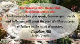 The Napoleon Hill's Quotes That Revolutionised My Life (6)