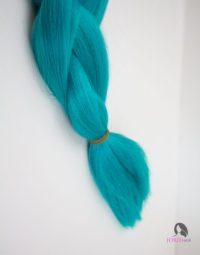 Ombre Braiding Hair 1B/ Teal Green# - Jorie Hair