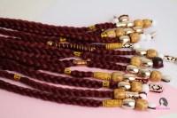 large hair beads and box braids - Jorie Hair