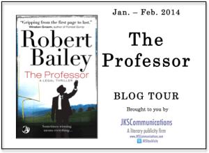 The Professor by Robert Bailey Blog Tour via JKS Communications