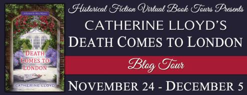 Death Comes to London Blog Tour via HFVBTs