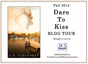 Dare to Kiss Virtual Book Tour via JKS Communications