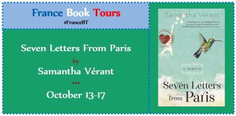 Seven Letters from Paris Virtual Book Tour via France Book Tours