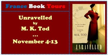 Unravlled Virtual Book Tour - France Book Tours
