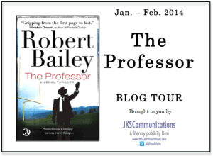 The Professor by Robert Bailey Blog Tour via JKS Communications
