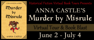 Murder by Misrule Virtual Book Tour with HFVBT