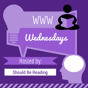 WWW Wednesday badge by Jorie in Canva