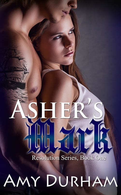 Asher's Mark by Amy Durham. Cover Art Design Credits: Tracy Stewart at Simply Bookish. Tattoo for Asher by Teresa Reasor (author & artist)