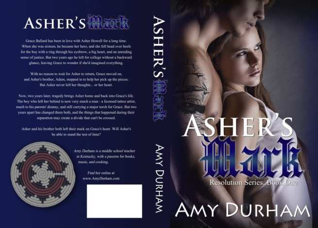 Cover Art Design Credits: Tracy Stewart at Simply Bookish. Tattoo for Asher by Teresa Reasor (author & artist)