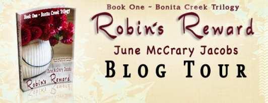 Robin's Reward Blog Tour via June McCrary Jacobs