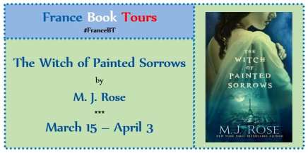 The Witch of Painted Sorrows blog tour with France Book Tours