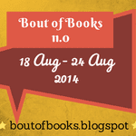 Bout of Books badge created by Jorie in Canva