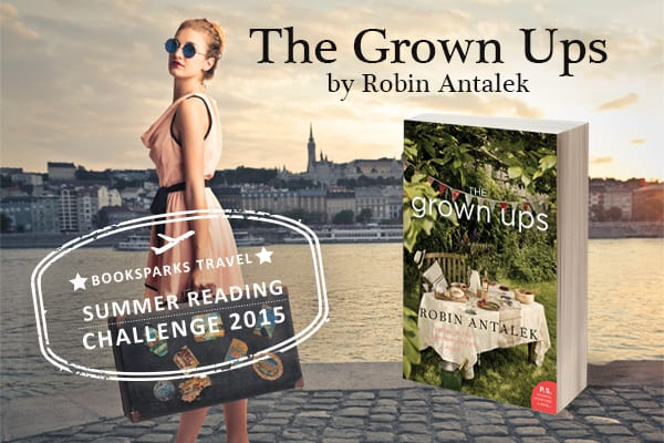 "Book Review | ""The Grown-Ups"" by Robin Antalek #SRC2015 No.1"