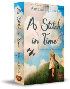 +Book Review+ A Stitch in Time by Amanda James #ChocLitSaturdays #RRSciFiMonth (time travel)