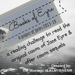 Books of Eyre Reading Challenge badge created by Jorie in Canva Photo Credit: Daniel Ruswick (Public Domain : Unsplash)