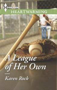 "Blog Book Tour | ""A League of Her Own"" by Karen Rock a #Contemporary #Romance centered around baseball!"