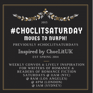 ChocLitSaturday 2015 badge created by Jorie in Canva