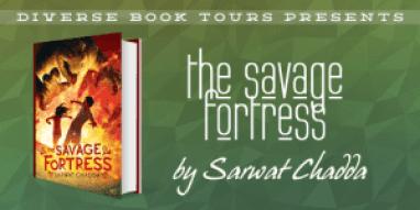 The Savage Fortress Blog Tour via Diverse Book Tours
