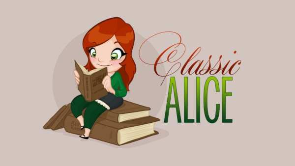 Classic Alice badge by Classic Alice