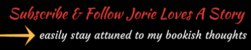 Subscribe to Jorie Loves A Story banner created by Jorie in Canva.