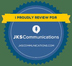 JKS Communications Reviewer Badge