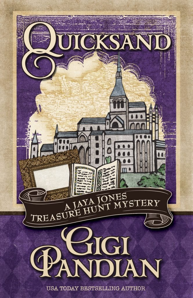 "Blog Book Tour | ""Quicksand: A Jaya Jones Treasure Hunt Mystery"" by Gigi Pandian Readers who appreciate Lara Croft or Tia Carrere's 'Relic Hunter' will happily find a new Professor Adventurer who finds extreme joy in digging up the past!"