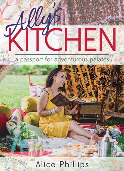 "Blog Book Tour | ""Ally's Kitchen: A Passport for Adventurous Palates"" by Dr. Alice D' Antoni Phillips is a journal of #foodie euphoria! Cookery delights abound, but it's how she fuses the food within the diary entries I loved the most!"