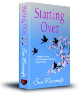 "Book Review | Trying my first taste of #RomCom by Sue Moorcroft, ""Starting Over"" is the first of #Middledip series! #ChocLitSaturdays"