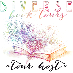Diverse Book Tours Tour Host badge provided by Diverse Book Tours and used with permission.