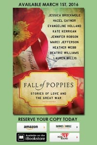 Cover Reveal for Fall of Poppies by HarperCollins Publishers.