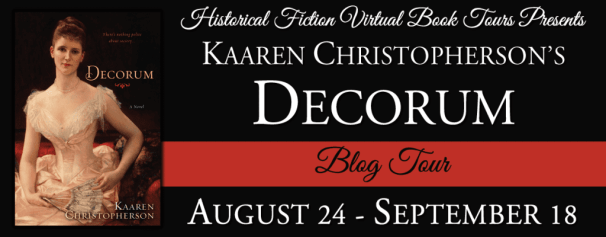Decorum Blog Tour hosted by HFVBTs.