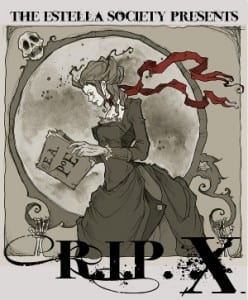 The Estella Society RIP/PERIL X. Artwork Credit: Abigail Larson. Used with permission of the artist.