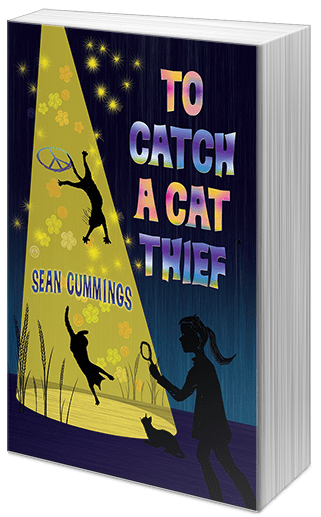 "Blog Book Tour | A new book by Indie Pub: Rebelight Publishing, the #CanLit stories I love showcasing and reading this year! ""To Catch A Cat Thief"" by Sean Cummings is lovingly quirky!"