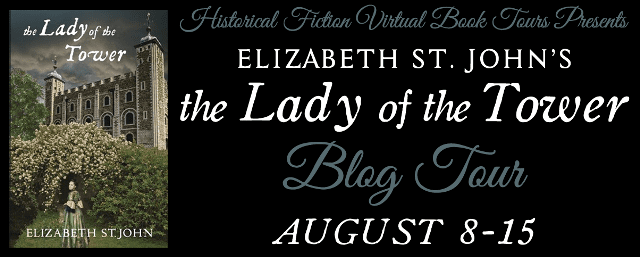 The Lady of the Tower blog tour hosted by HFVBTs.