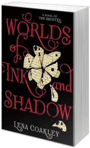 "Blog Book Tour | ""Worlds of Ink and Shadow"" by Lena Coakley The Brontes arrive on #JLASblog, in this aptly atmospheric and wicked emotionally dramatic inspired-by young adult novel!"