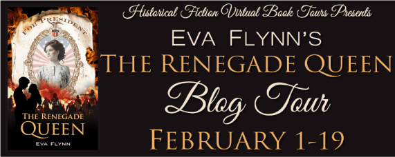 The Renegade Queen blog tour via HFVBTs.