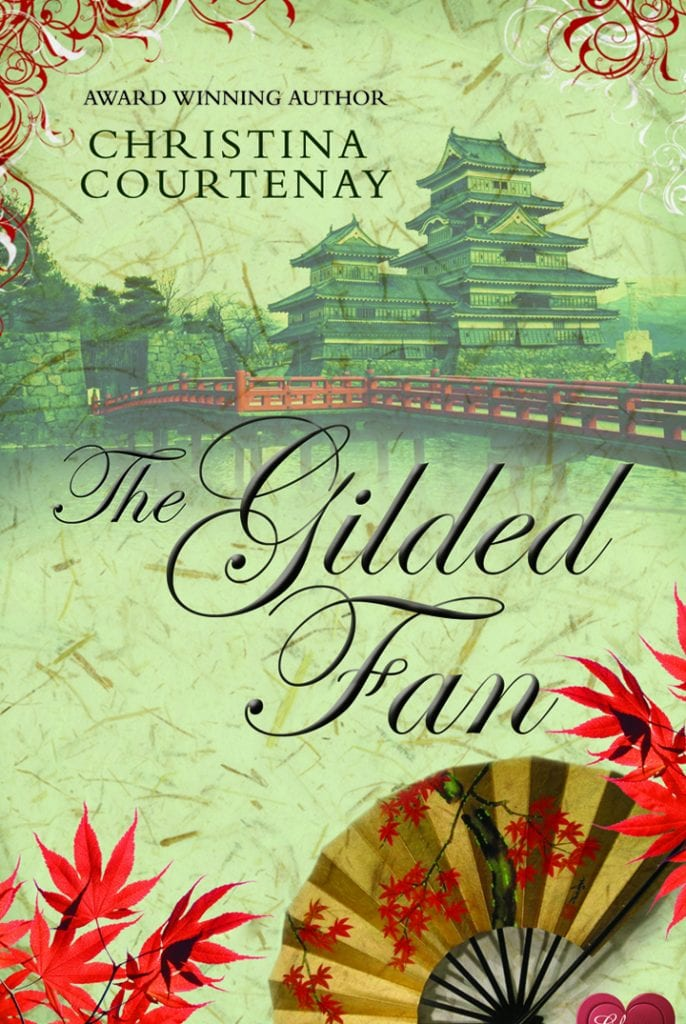 "Book Review | ""The Gilded Fan"" (Book Two of the Kumashiro Series) by Christina Courtenay via #ChocLitSaturdays"