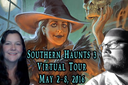 Southern Haunts 3 blog tour hosted by Tomorrow Comes Media