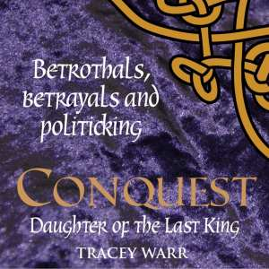 Conquest trilogy promo badge provided by Impress Books.