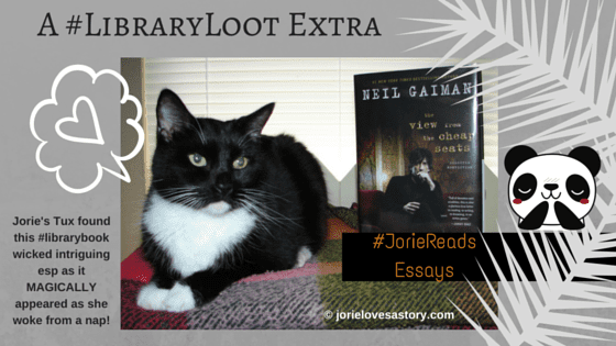 A #LibraryLoot Extra (for 7 July) created by Jorie in Canva. Book Photography Credit: Jorie of jorielovesastory.com.