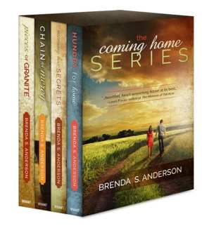 Coming Home series boxed set (ebook edition) graphic provided by Brenda S. Anderson