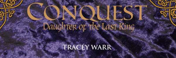 Conquest: Daughter of the Last King banner provided by Impress Books.