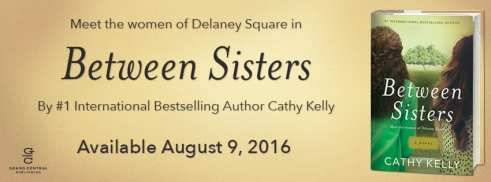 Between Sisters promo banner provided by Grand Central Publishing and used with permission.