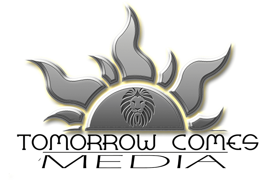 Tomorrow Comes Media Logo badge provided by Tomorrow Comes Media.