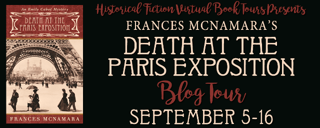 Death at the Paris Exposition blog tour via HFVBTs.