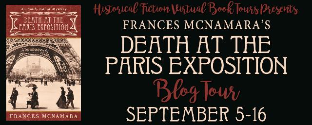 Death at the Paris Exposition blog tour via HFVBTs.