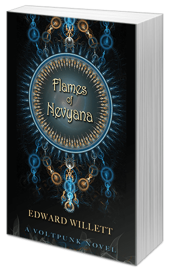 "Blog Book Tour | ""Flames of Nevyana"" by Edward Willett"