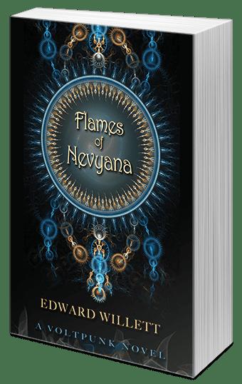 "Blog Book Tour   ""Flames of Nevyana"" by Edward Willett"