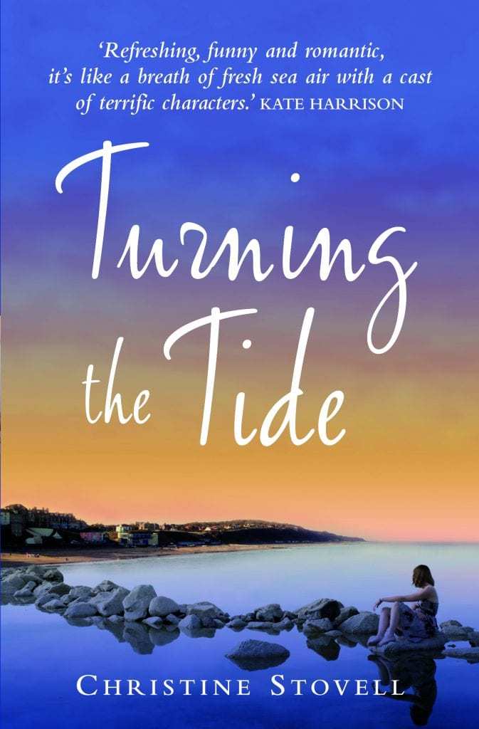 "Book Review | ""Turning the Tide"" (Book No.1 of the Little Spitmarsh series) by Christine Stovell #ChocLitSaturdays"