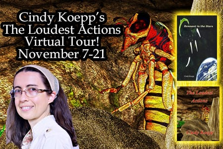 Cindey Koepp blog tour via Tomorrow Comes Media
